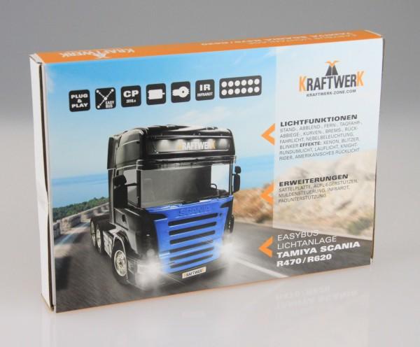 EasyBus Lichtanlage TAMIYA Scania R470 / R620